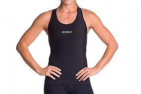 Coeur Sports Womens Little Black Tri Tank