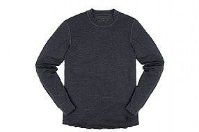 Chrome Mens Wool Crewneck Long Sleeve Shirt