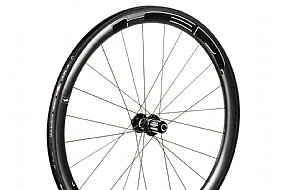 HED Jet 4 Plus Black Clincher Rear Wheel