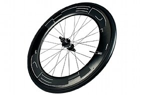 HED Jet 9 Plus Black Clincher Rear Wheel