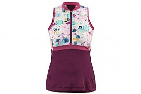 Louis Garneau Womens Art Factory Zircon Sleeveless Jersey