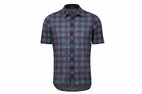 Pearl Izumi Mens Summit Button Up Short Sleeve Shirt