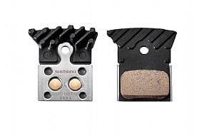 Shimano L04C Metal Disc pads w/Cooling Fins