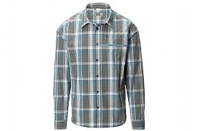 Shimano Mens Transit Button-Down Long Sleeve Shirt