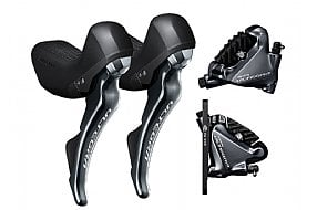 Shimano Ultegra ST-R8020 Shifters and Disc Brake Calipers