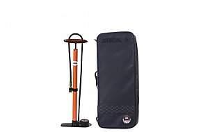 Silca Pista Floor Pump with Travel Bag