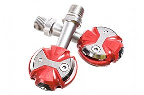Speedplay Zero Stainless Pedals with Walkable Cleats