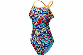 TYR Sport Womens Mosaic Diamondfit Swimsuit