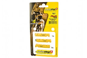 SwissStop FlashPro Shimano Brake Pads - Yellow Carbon