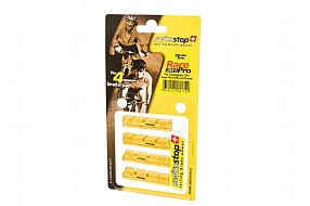 SwissStop RacePro Campy Brake Pads - Yellow Carbon