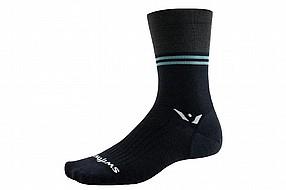 Swiftwick Pursuit Seven UL Merino Wool Block Stripe Sock