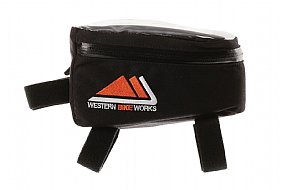 WesternBikeworks Tri Phone Pro Top Tube Bag