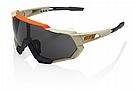 100% Speedtrap Sunglasses Soft Tact Quicksand - Smoke Lens