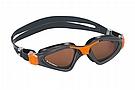 Aqua Sphere Kayenne Polarized Goggle  Grey/Orange w/Brown Polarized Lens