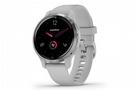 Garmin Venu 2S GPS Smartwatch Silver Bezel w/Mist Gray/Silicone Band