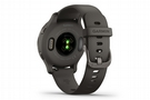 Garmin Venu 2S GPS Smartwatch Slate Bezel wi/Graphite/Silicone Band