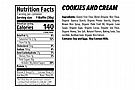 Honey Stinger Gluten Free Organic Waffles (12 Count) Cookies & Cream