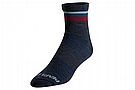 Pearl Izumi Merino Tall Sock Navy/Adobe Stripe