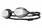 TYR Sport Black Ops 140 EV Racing Mirrored Goggle Metallized Smoke