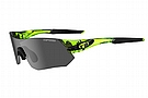 Tifosi Tsali Sunglasses Crystal Neon Green - Smoke/AC Red/Clear
