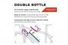 Wolf Tooth Components B-RAD Double Bottle Adapter