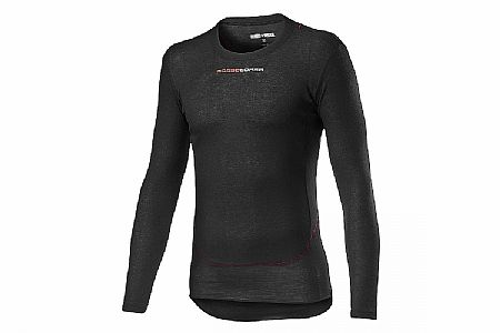 Castelli Mens Prosecco Tech Long Sleeve Baselayer