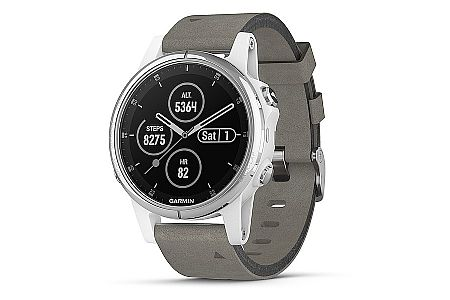 Garmin Fenix 5s Plus Sapphire Grey Suede GPS Watch