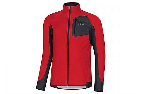 Gore Wear Mens R3 Gore Partial Windstopper Run Shirt