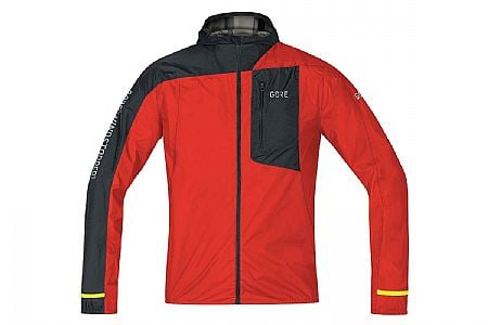 Gore Wear Mens R7 Gore Windstopper Light Hooded Jacket