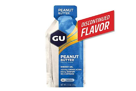 GU Peanut Butter Energy Gel (Box of 24)