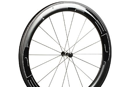 HED Jet 6 Plus Black Clincher Front Wheel