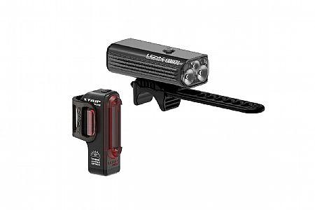 Lezyne Macro Drive 1300XL / Strip Pro Light Set