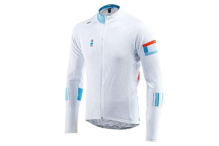 ORNOT Mens White Hot Long Sleeve Jersey
