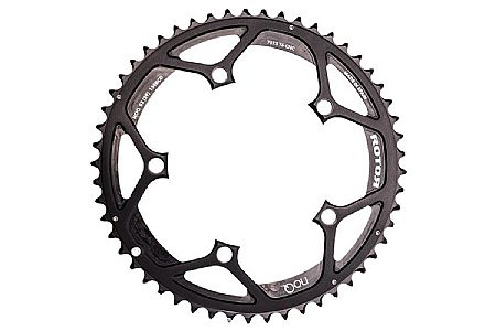 Rotor NoQ Round Chainrings - 130 BCD Inner