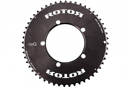 Rotor NoQ Round Chainrings - 110x5 BCD Outer Aero