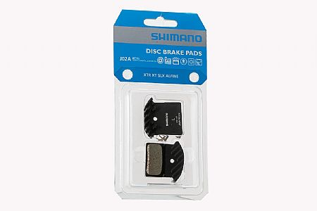 Shimano J02A Resin Pad with Cooling Fins
