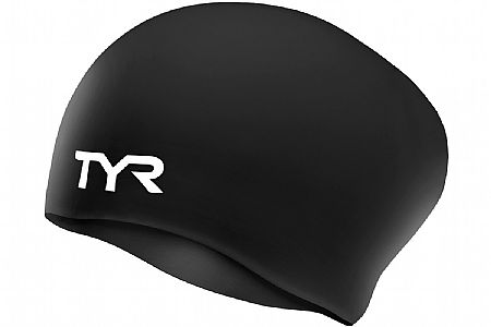 TYR Sport Long Hair Wrinkle-Free Silicone Cap