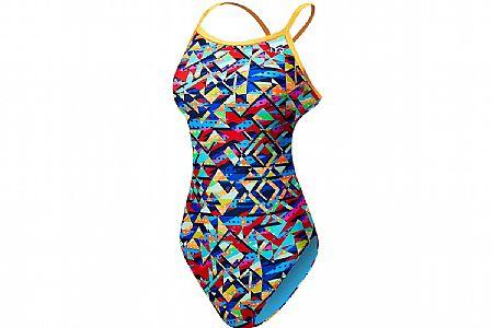 TYR Sport Womens Mosaic Diamondfit Swimsuit