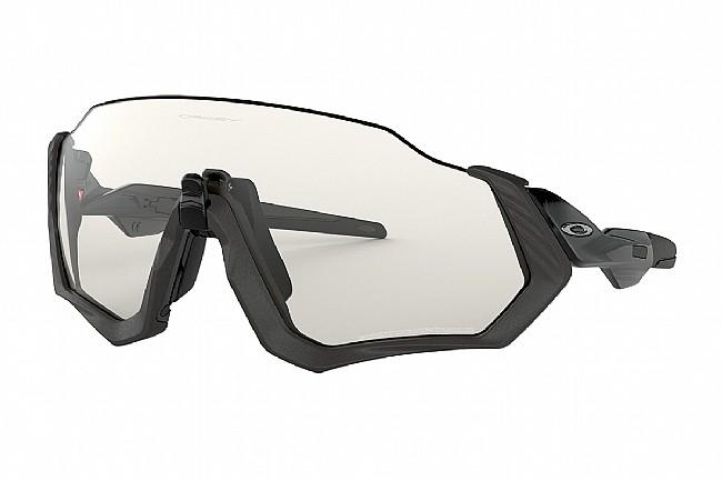 Oakley Flight Jacket Sunglasses Scenic Grey/Matte Steel - Photochromic