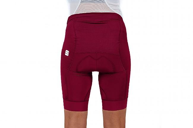 Sportful Womens Bodyfit Pro Short Red Wine