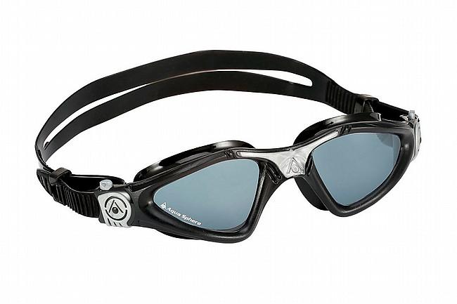 Aqua Sphere Kayenne Goggle Black/Silver w/Smoke Lens