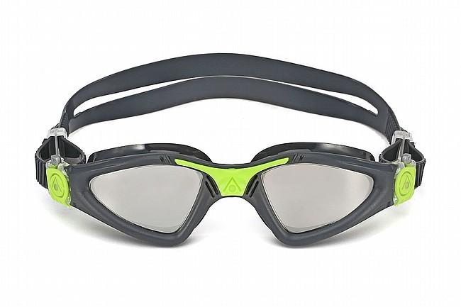 Aqua Sphere Kayenne Mirrored Goggle Grey/Lime w/Silver Mirror Lens