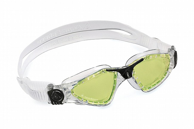 Aqua Sphere Kayenne Polarized Goggle  Clear/Black w/Green Polarized Lens