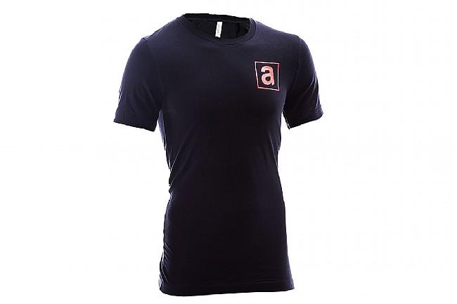 Athletes Lounge Black T-Shirts Black/Red - S