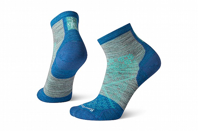 Smartwool Womens Performance Cycle Zero Cushion Ankle Sock