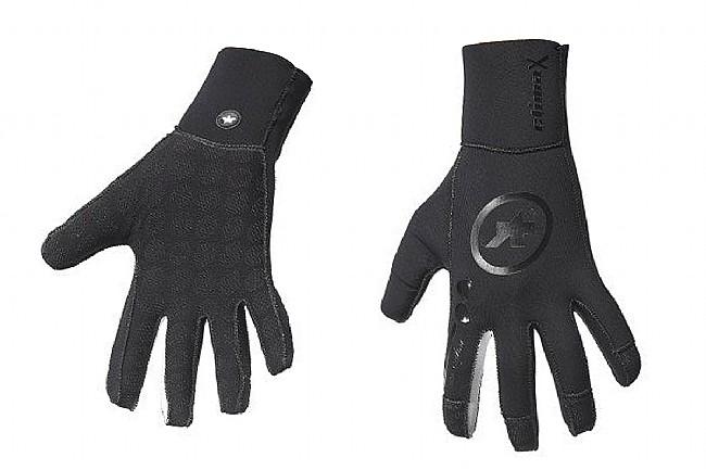 Assos rainGlove_evo7 Glove Black Volkanga