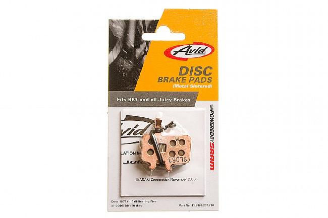 Avid BB7/Juicy Disc Brake Pads Metal Sintered