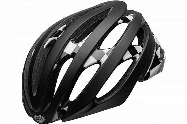Bell Stratus MIPS Helmet Checked Matte/Gloss Black/White