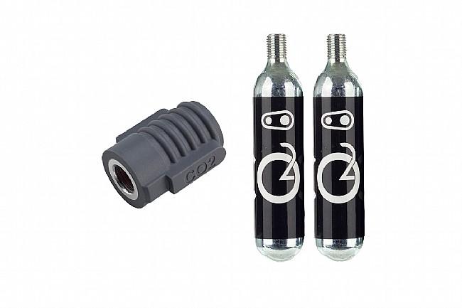 Crank Bros Klic CO2 Inflator and Cartridges Crank Bros Klic CO2 Inflator and Cartridges