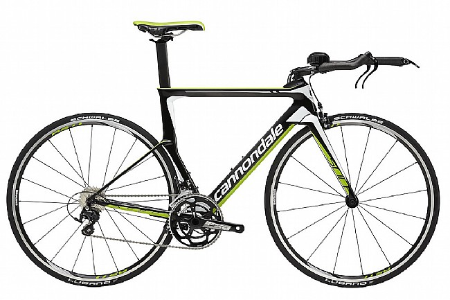 Cannondale Slice 105 Tri Bike Green/Blk - 51cm